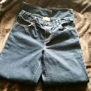 Like new adjustable waist jeans size 18 Husky